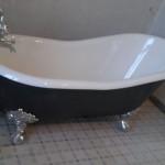 Badkuip installeren